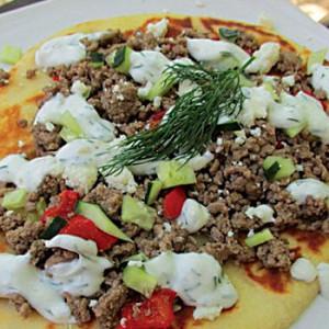 Gyro Pizza