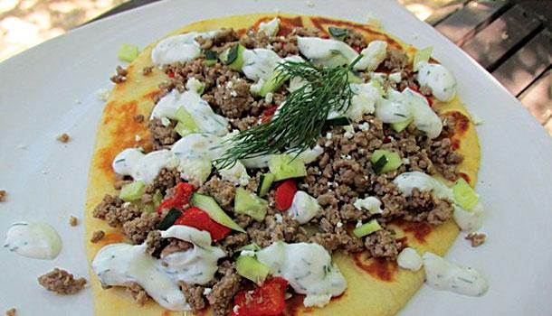 Gyro-Pizza