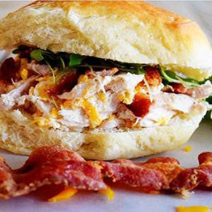 Smoky Bacon Cheddar Sliders