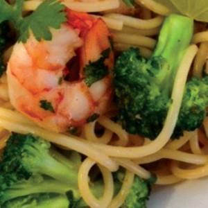 Sweet & Spicy Shrimp Noodle Bowls