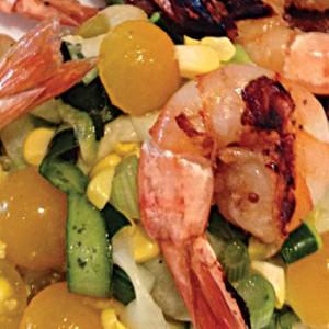 Yellow Polka Dot Zucchini Salad