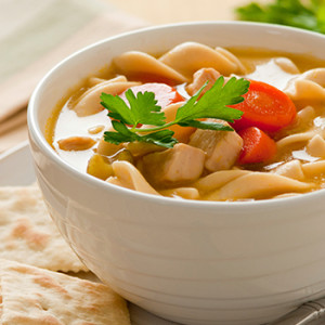hearty rotisserie chicken noodle soup