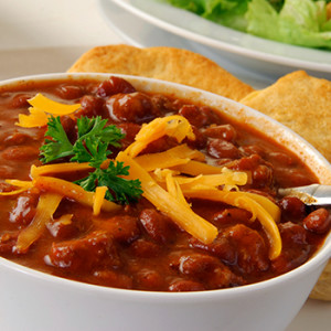 triple burger chili