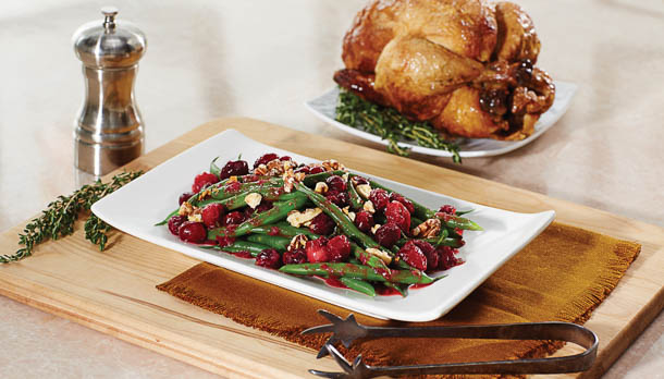 Sunny's Cranberry-Glazed Green Beans